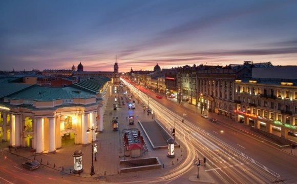 Невский проспект в Санкт