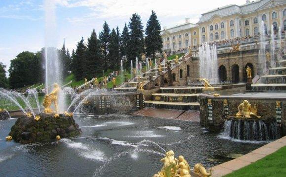 Режим работы фонтанов и парков