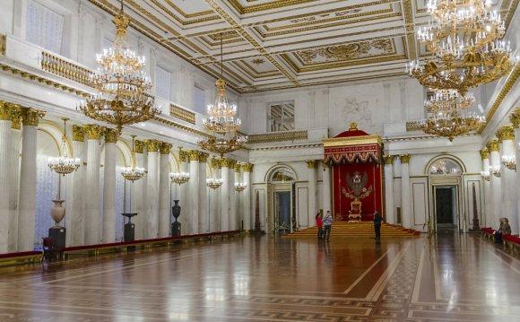 Залы эрмитажа фото