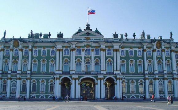 Зимний дворец. Архитектор